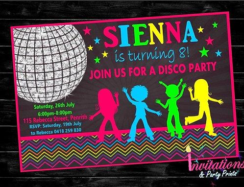 Disco Invitation