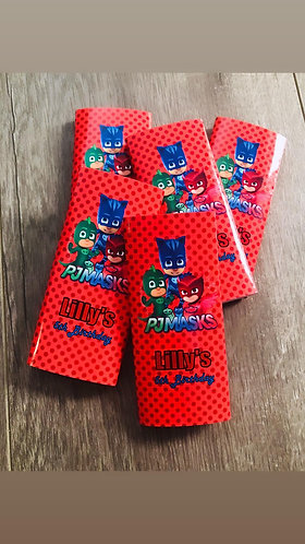 PJ Masks chocolate bars x 10