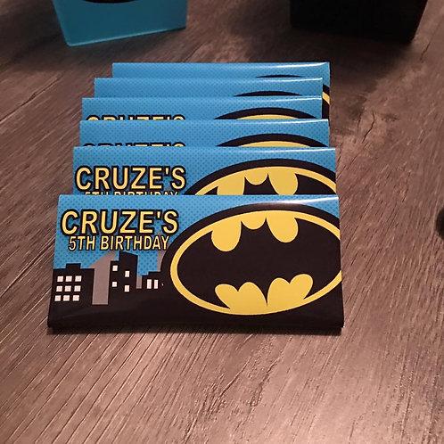 Batman chocolate bar