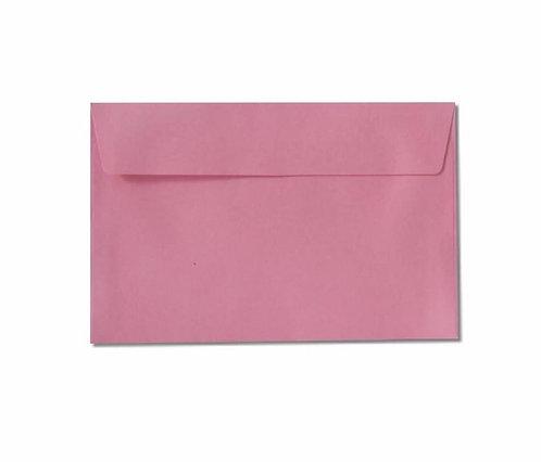 Pink C6 envelope