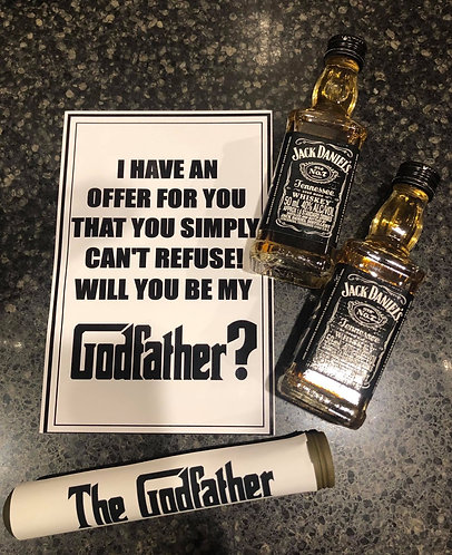 Will you be my godfather card