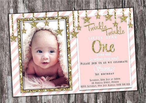 Twinkle twinkle Invitation