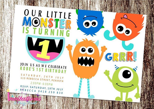 Monster Invitation
