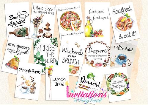 Foodie Flatlay pack