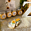 Thumbnail: Sunflower scalloped tags