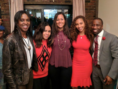 YGC's Rianka speaks at #WealthWednesday with Angela Yee & Stacey Tisdale