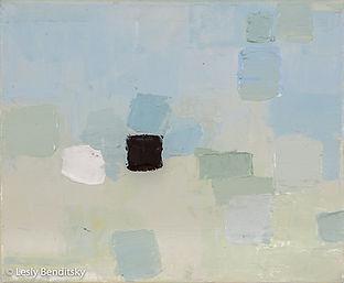 Square Study, acrylic on canvas, 12 x 12