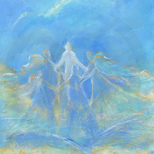 ancient white priestess's healing