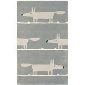 Scion Mr Fox Rug Silver