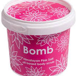 bomb - pink himalayan salt scrub