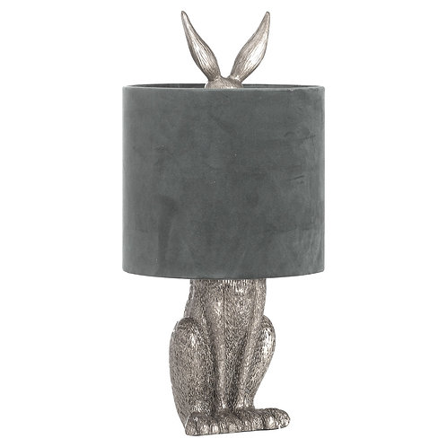 Silver Hare lamp