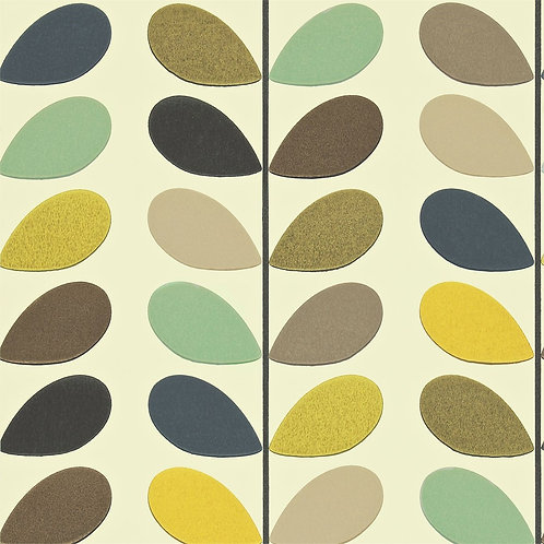 Orla kiely Multi Stem Wallpaper Seagreen