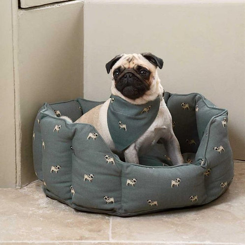 Sophie Allport PUG dog bed small