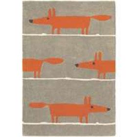 Scion Mr Fox Rug Cinnamon