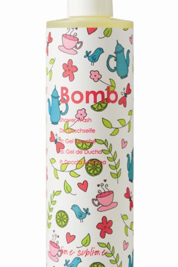 bomb - lime sublime shower gel