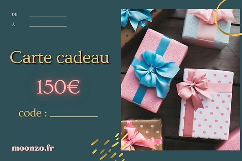 Carte Cadeau (150€)