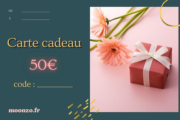 Carte Cadeau (50€)