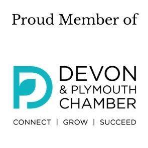 Member of Devon & Plymouth Chamber of Commerce
