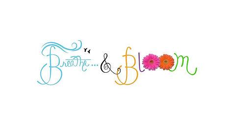 Breathe & Bloom Logo  (Straight Across).