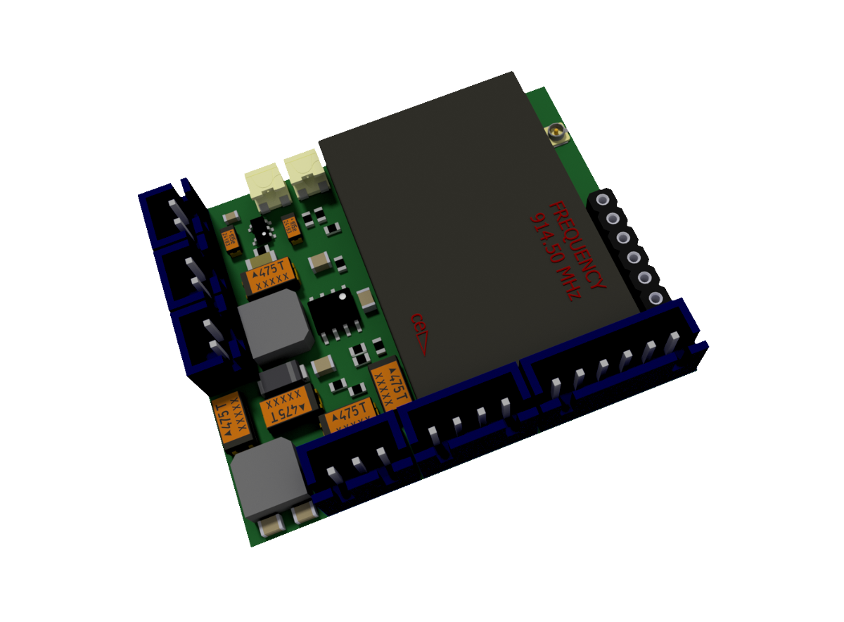 914 MHZ MULTI FUNCTION PCB