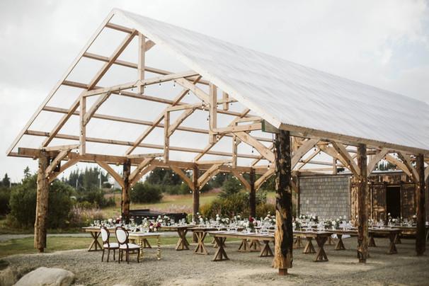 Pavilion at AK Diamond J Ranch Wedding Venue