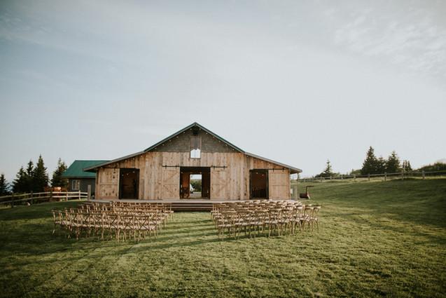 Heritage Barn Back Lawn