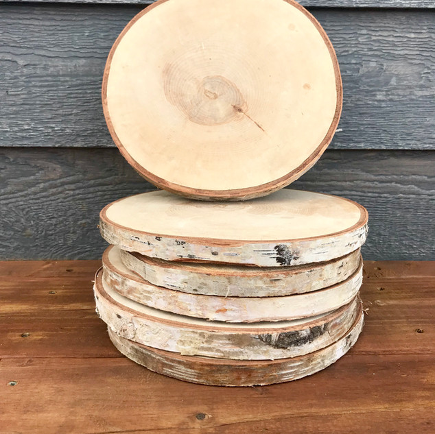 Birch Wood Rounds