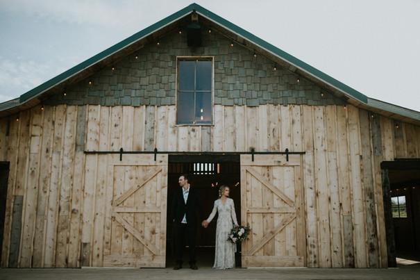 Wedding Barn Styled Shot