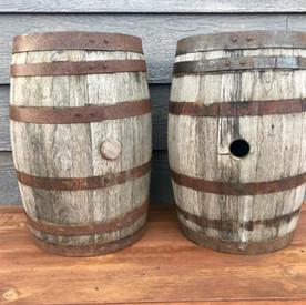 Small Whiskey Barrel