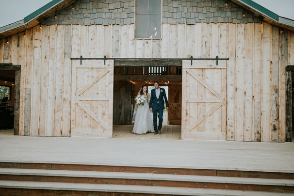 Rustic Barn Wedding Reception