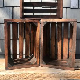 Brown Wooden Crates