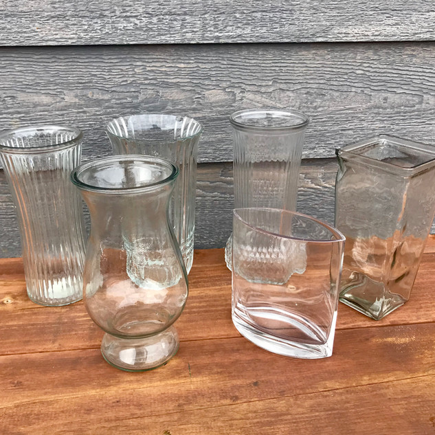 Large Assorted Vases