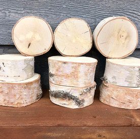 Small Birch Wood Rounds