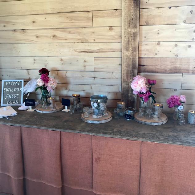 Serving/Recieving Table
