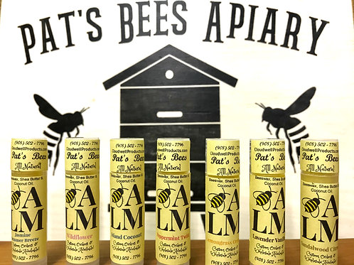 Pat's Bees Lip Balm Sample Pack