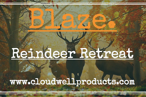 Reindeer Retreat - Blaze! Soy Candle