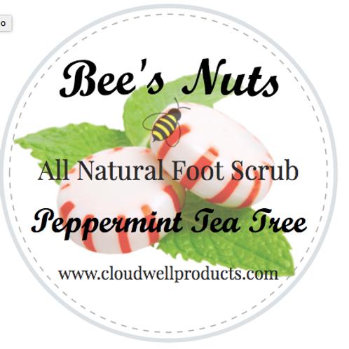 Peppermint & Tea Tree Foot Sugar Scrub
