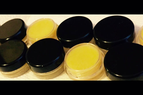 Beeswax All Natural Lip Balm Jars