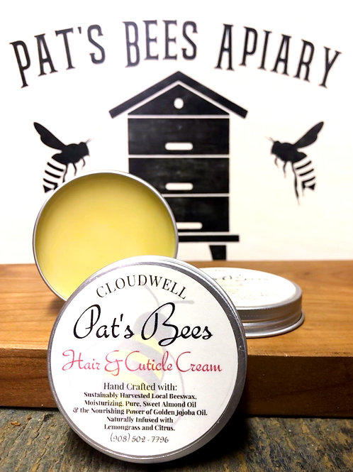 Pat's Bees Nail and Cuticle Cream
