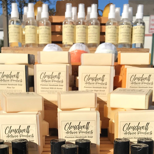 Featured Cold Pressed Soaps
