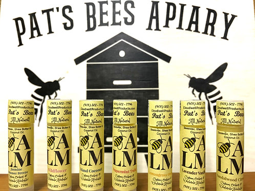 Pat's Bees 3 for $10! Lip Balms