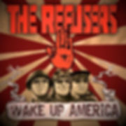 The Refusers, Wake Up America, Seattle, USA, Self Released, 2016, Hammond Organ, Album