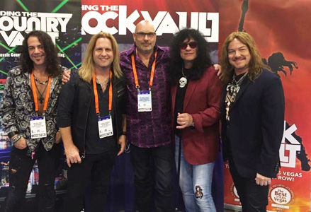 Michael T. Ross, Las Vegas, Keyboards, Keyboardist, Raiding The Rock Vault, Hard Rock Hotel, Nevada, USA, North America, Korg Kronos, Korg, North America, United States Of America, Harry Cowell, Andrew Freeman, Sir Harry Cowell, Paul Shortino, Mark Boals