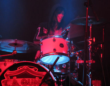 Glenn Milligan, Meinl, Metalliville, Zine, Magazine, Webzine, Cock Rock, Sleaze, Glam, L.A. Guns, Los Angeles, Hollywood, USA, North America, United States Of America,  Marshall, Gibson, Fender, Andii Andrews, Gav Black, Tommy Rockit, Ronnie Velvet, Ireland, Southern Ireland, Rock, Gig, Concert, Live, Review, Sheffield, O2 Academy, Venue, Stone Trigger, Dublin, Tracii Guns, Phil Lewis, Philip Lewis, Shane Fitzgibbons, Johnny Martin, Michael Grant, Guitar, Drums, Vocals, Bass, Theramin, Tommy Kenny, Peter Jordan, Gavin Purcell, Andrew Callaly, Reunion, Tour, 2017,  March, 22