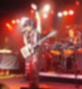 Micheal T. Ross, Lita Ford, Stet Howland, Fort Myers, Ricochet, Florida, USA, United States Of America, North America, April, 2009, Rock, Live. Gig, Concert, Fort Myers Beach, Cape Coral, Glenn Milligan