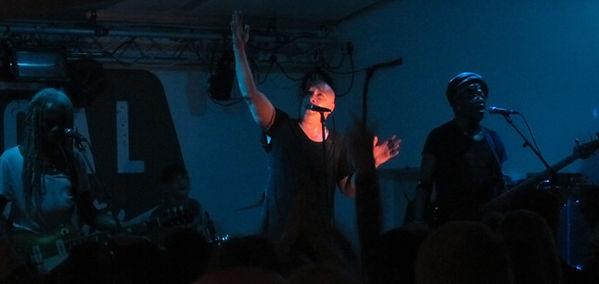 Dan Reed Network, Dan Reed, Dan Pred, Melvin Brannon II, Brion James, Local Authority, Sheffield, United Kingdom, Saturday, March 11, 2017, Live, Concert, Gig