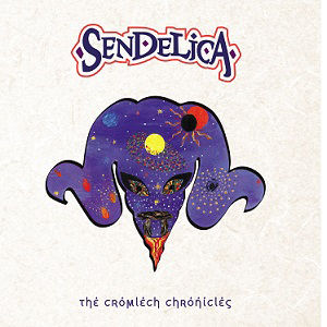 Sendelica, The Cromlech Chronicles, Nik Turner, 70's, Hawkwind, Wales, Saxophone, Pink Floyd, Self Released, Psychedelic