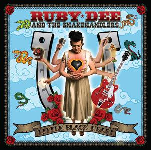 CD, Album, Album Review, CD Review, Ruby Dee And The Snakehandlers, Little Black Heart , Seattle, Rockbilly, Elvis Presley, Eddie Cochran