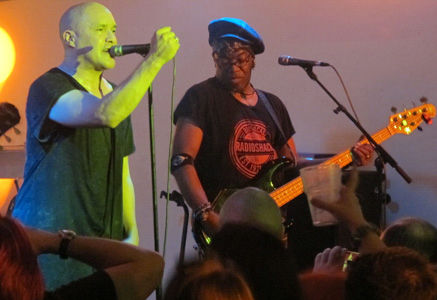 Dan Reed Network, Dan Reed, Melvin Brannon II, Local Authority, Sheffield, United Kingdom, Saturday, March 11, 2017, Live, Concert, Gig