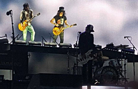 Guns 'N' Roses, Slane Castle, Dublin, Republic Of Ireland, May, 27, 2017, Saturday, Live, Review, Looney Tunes, The Equalizer, It's So Easy, Mr. Brownstone, Chinese Democracy, Welcome To The Jungle, Double Talkin' Jive, Better, Estranged, Live And Let Die, Rocket Queen, You Could Be Mine, New Rose, This I Love, Civil War Voodoo Chile, Black Hole Sun, Coma, Slash Guitar Solo, Speak Softly Love, Love Theme from The Godfather, Sweet Child O' Mine, Out To Get Me, Wish You Were Here, November Rain, Knocking On Heavens Door, Night Train, Patience, There Was A Time, The Seeker, Paradise City, You Know My Name, Axl Rose, Axl, Slash, Saul Hudson, Duff McKagan, Chris Cornell, The Who, Paul McCartny, Wings, The Damned, Not In This Lifetime, Tour, Richard Fortus, GNR, Ireland, Donington, London, Concert